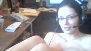 A Naked Adrianne Curry Plays World of Warcraft